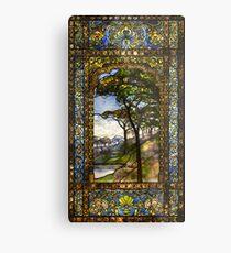 Louis Comfort Tiffany - Glasmalerei 15. Fenster 1895 Metallbild