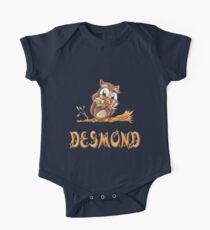 Desmond Owl One Piece - Short Sleeve
