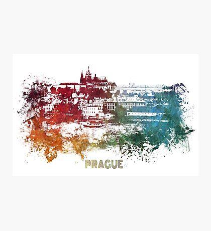 Prague skyline  Photographic Print