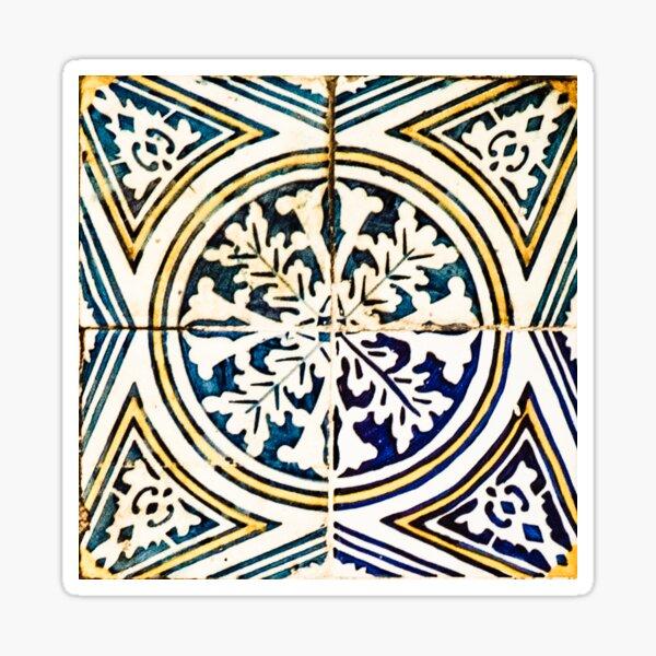 Azulejo Geometrical Pattern Sticker