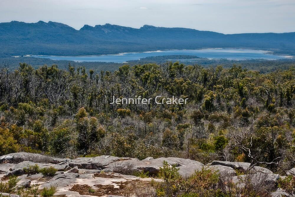 Views of Lake Wartook by Jennifer Craker