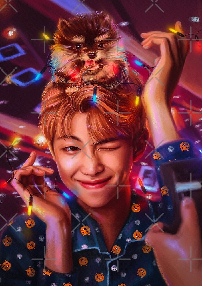 Quot Rm Amp Yeontan Quot By Ellen Drawings Redbubble