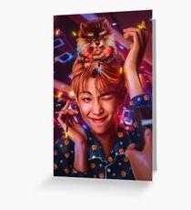 RM & Yeontan Greeting Card