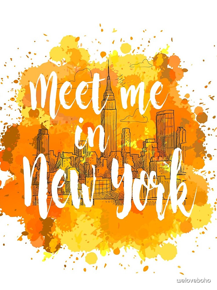 Meet me in New York de weloveboho