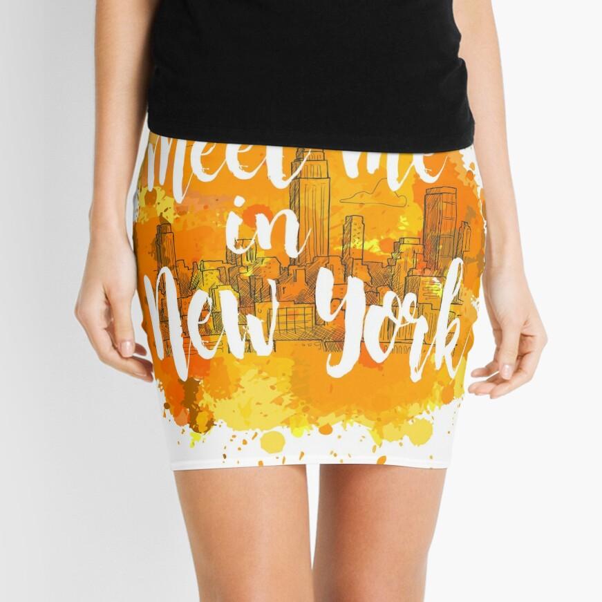 Meet me in New York Minifalda