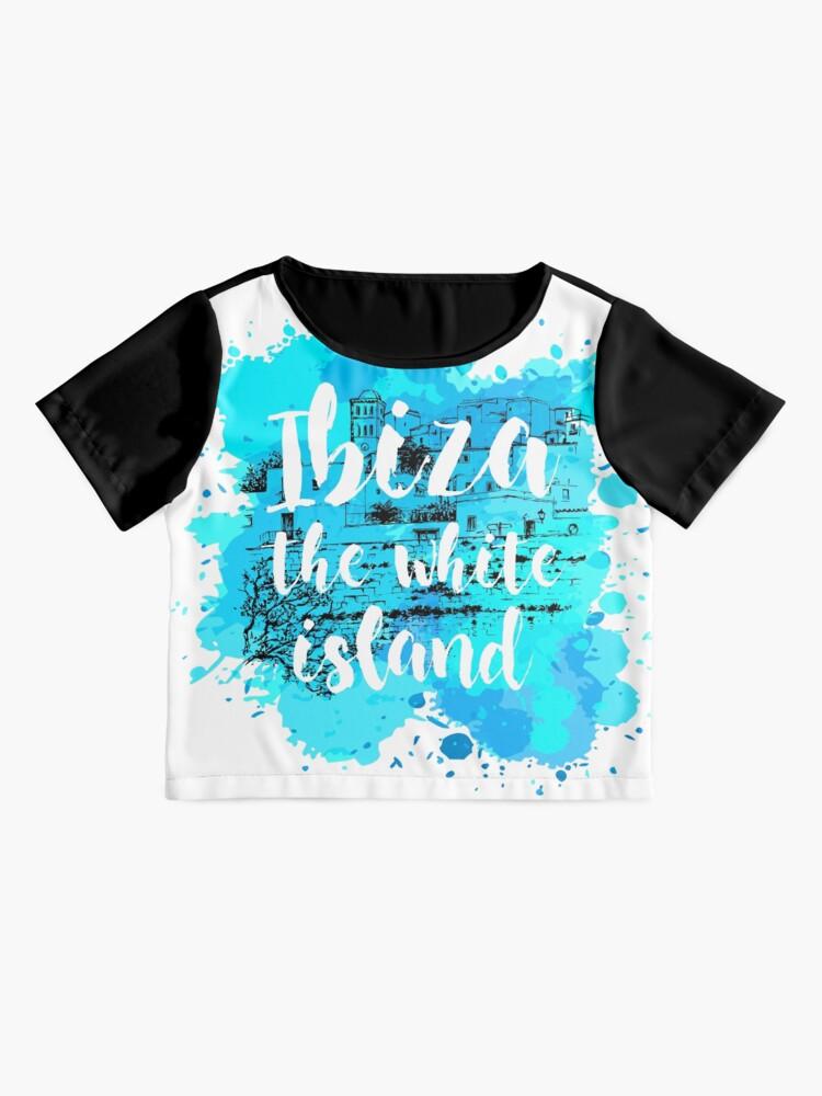 Vista alternativa de Blusa Ibiza the white island