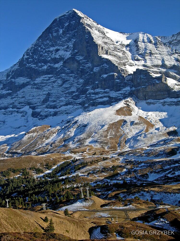 The Jungfrau region by GOSIA GRZYBEK