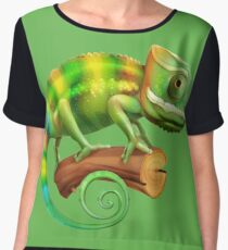 Chameleon Chiffon Top