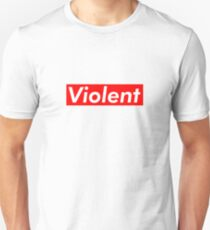 Violent Supreme Box Logo Unisex T-Shirt