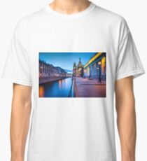 Saint Petersburg at Night Classic T-Shirt