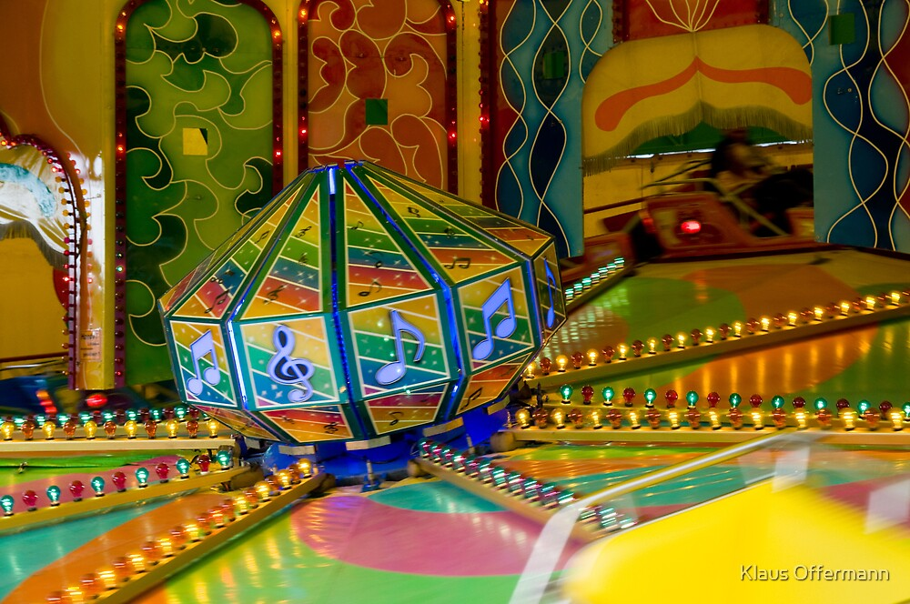 Merry-go-round by Klaus Offermann