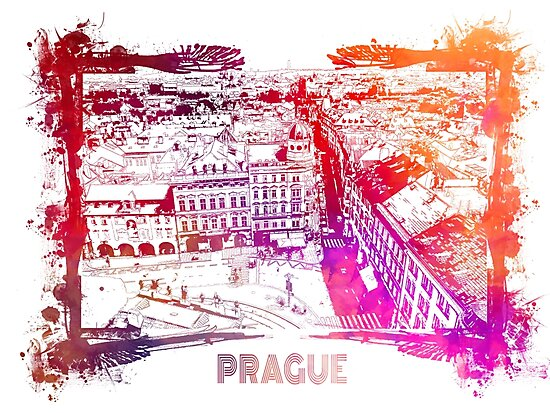 Prague skyline panorame by JBJart