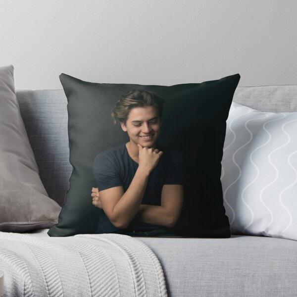 cole sprouse Throw Pillow