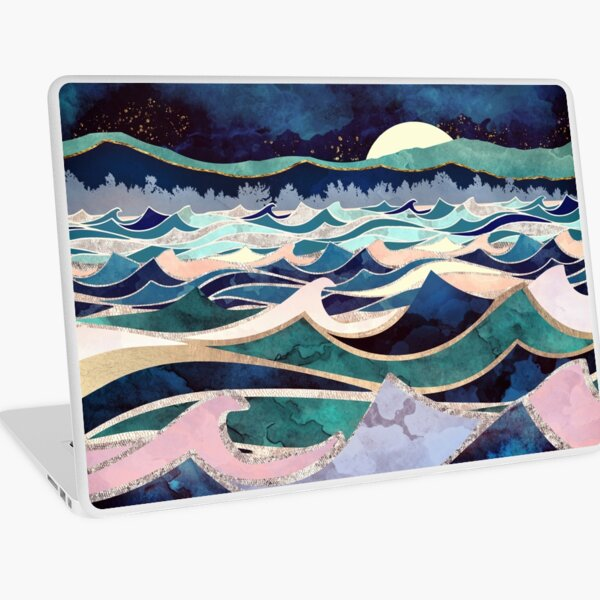 Moonlit Ocean Laptop Skin