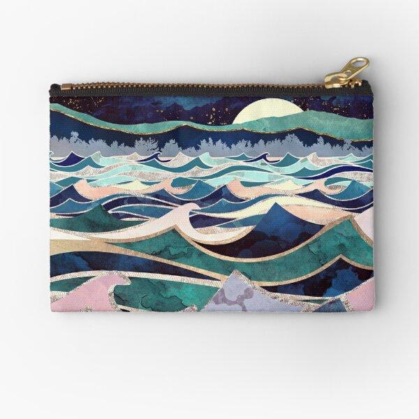 Moonlit Ocean Zipper Pouch