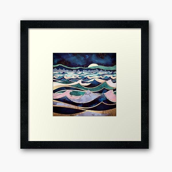 Moonlit Ocean Framed Art Print