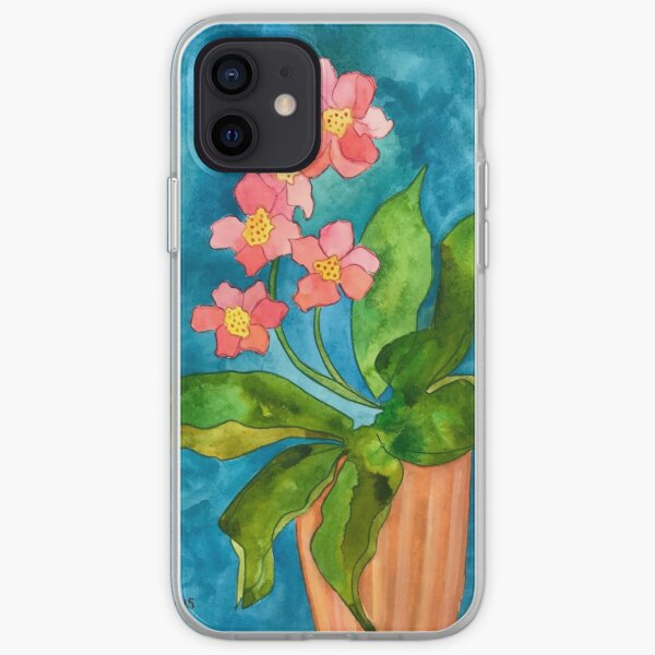 Lovely Orchid iPhone Soft Case