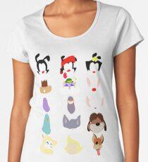 Animaniacs Animal Cast Women's Premium T-Shirt