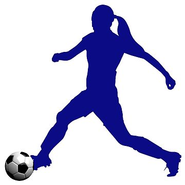 Blue Women in Soccer Collection by NorthernSoulz