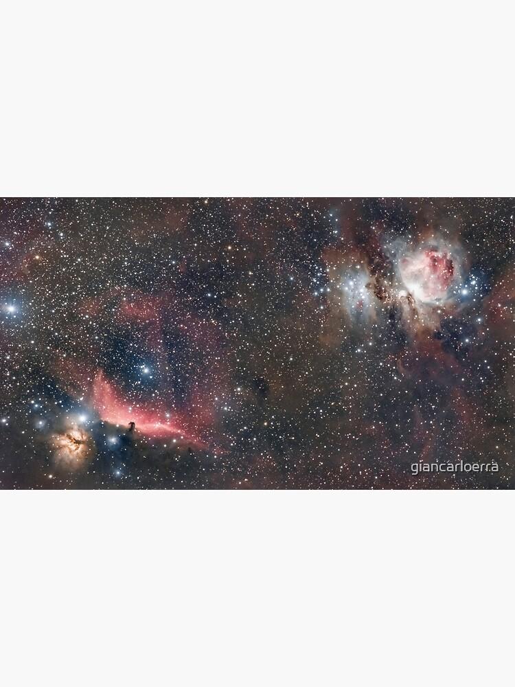 Orion + Flame + Horsehead nebulae by giancarloerra