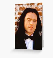 Tommy Wiseau The Room Greeting Card