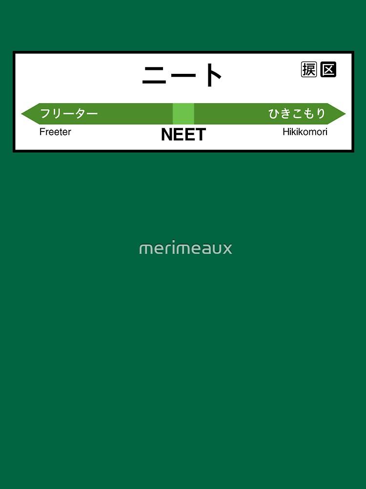 NEET Station • ニート駅 by merimeaux