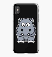 Hippo, Cartoon, Hippopotamus, River Horse iPhone Case/Skin