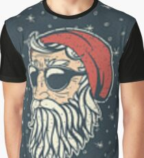 Hipster Santa 2018 Graphic T-Shirt