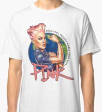 Pink Beautiful Trauma World Tour 2018 Classic T-Shirt