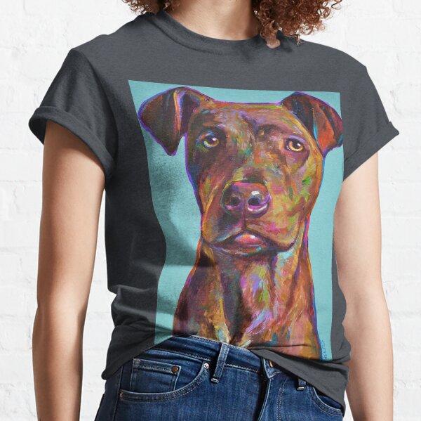 BRINDLE PITBULL PUP Classic T-Shirt