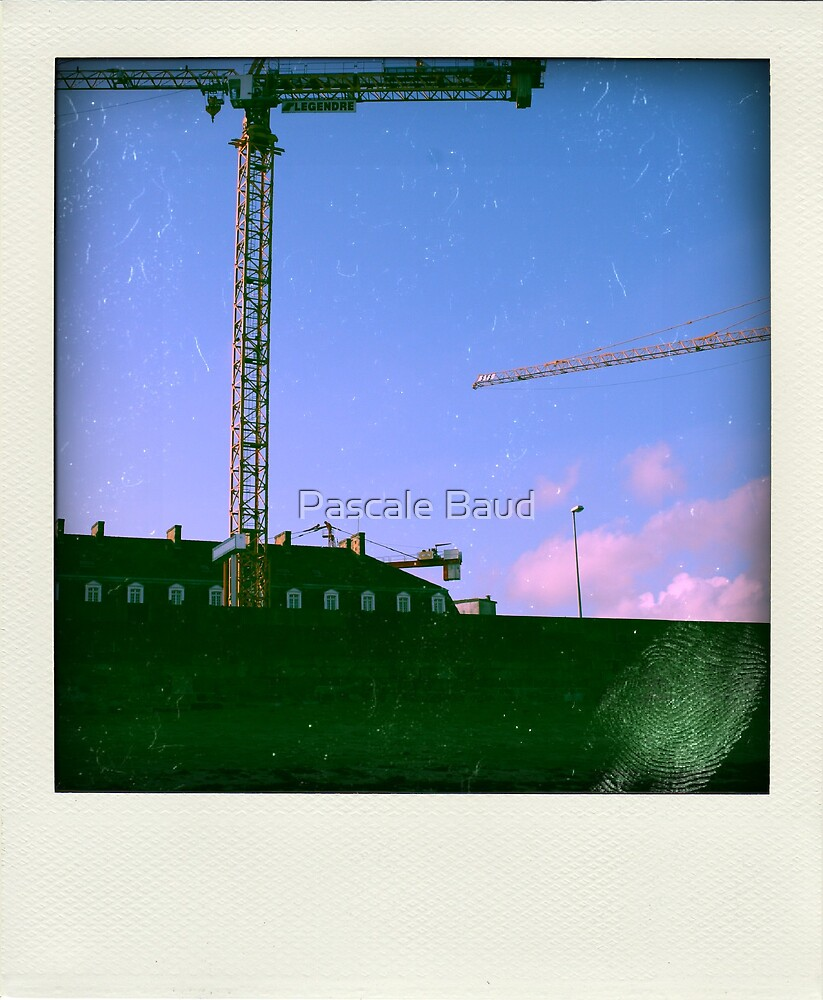 Faux-polaroids - Travelling (49) by Pascale Baud