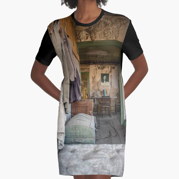 Abandoned - House in a Mining Town by SparklePyre Graphic T-Shirt Dress
