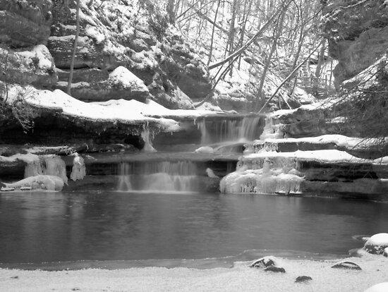 Frozen Nature Series - Bitter Falls by JThill