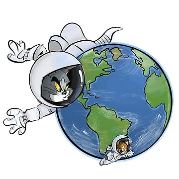 Tom and Jerry in Space by nkij
