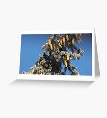 Blue Skies 001 Greeting Card