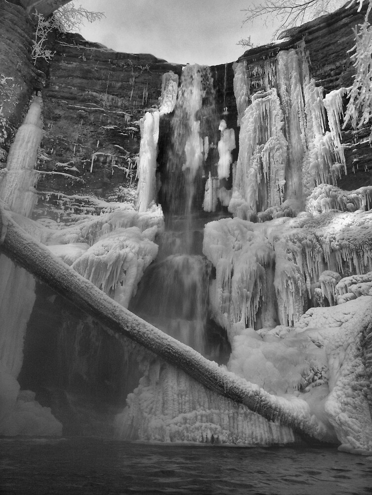 Frozen Nature Series - Ice Falls by JThill