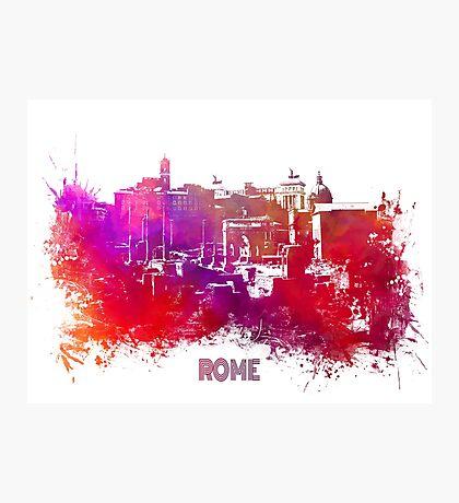 Rome skyline Photographic Print