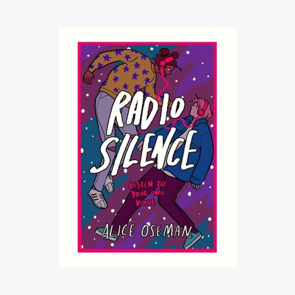 RADIO SILENCE by Alice Oseman Art Print