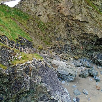 Plastic rocks - Tintagel by sweetairhead