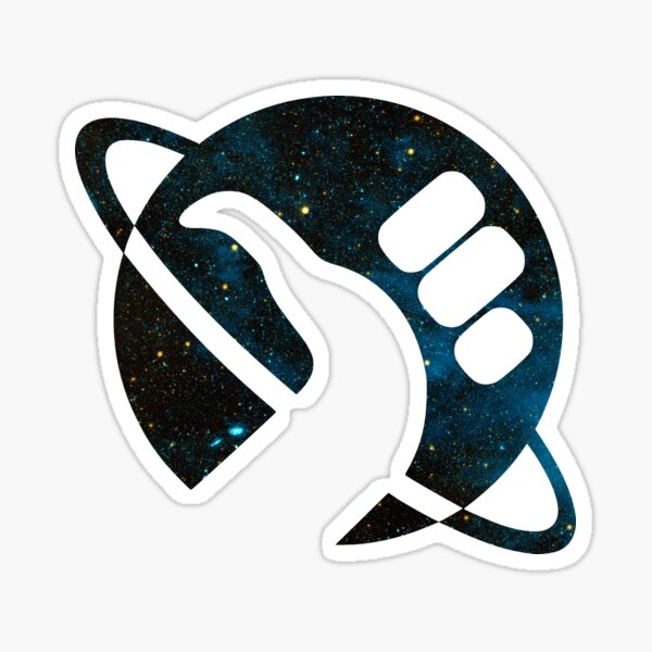 Space is Big Sticker