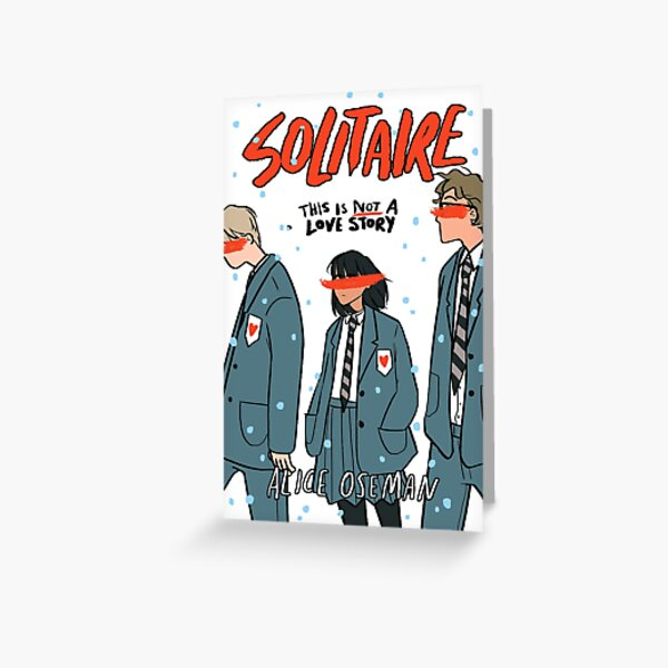 SOLITAIRE by Alice Oseman Greeting Card