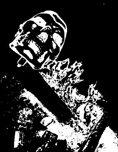 fire skull by Jennifer Doig