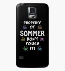 Property of Sommer Case/Skin for Samsung Galaxy