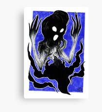 Screech 2017 Inktober Marker Illustration Canvas Print