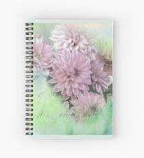 Dahlia Art Spiral Notebook
