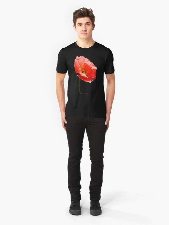 Alternate view of Poppy Slim Fit T-Shirt