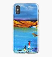Fun Day Acrylic painting iPhone Case/Skin
