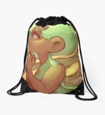 Original art: Fae Pondering Fantasy Drawstring Bag