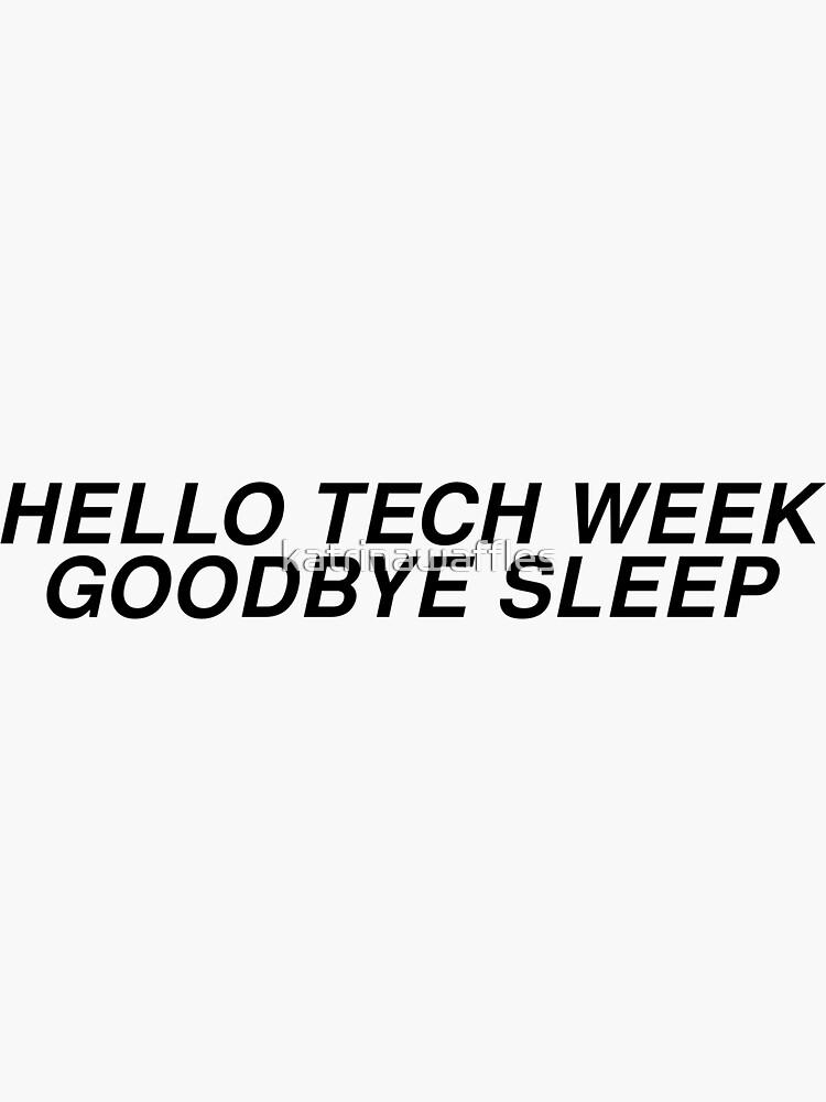 hola tecnología semana adiós sueño de katrinawaffles