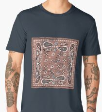 Distressed Bandana Men's Premium T-Shirt
